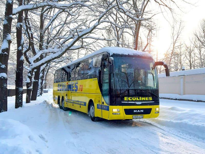 Отправление автобуса в Карелию фото