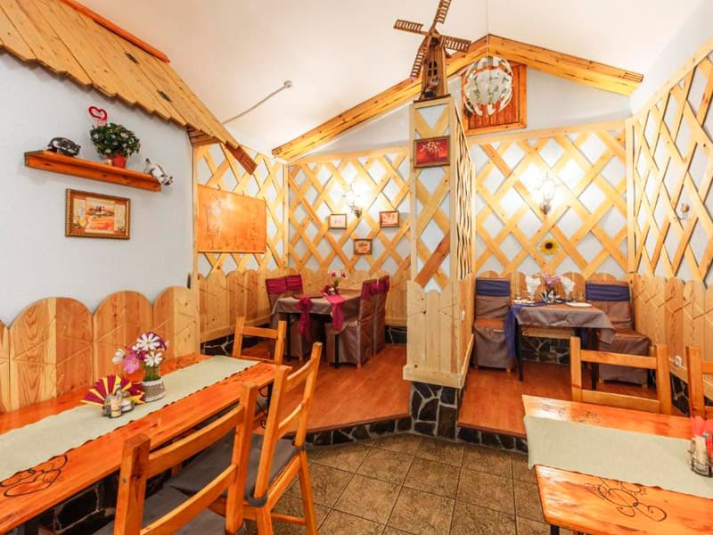 кафе в отеле «Длинный берег» фото