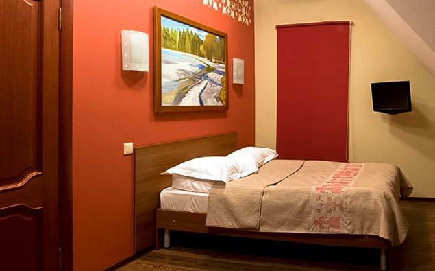 номера комфорт отеля «Онежский замок» фото