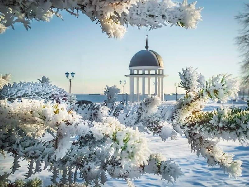 зимний петрозаводск