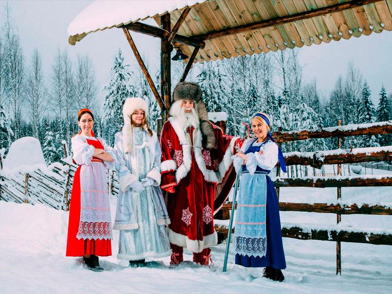 вотчина карельского Деда Мороза – Талви Укко