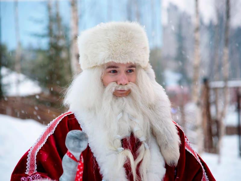 Вечерние посиделки с карельским Дедом Морозом