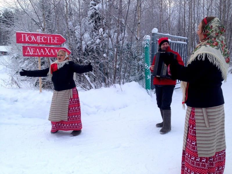 экскурсии в Карелии на новый год