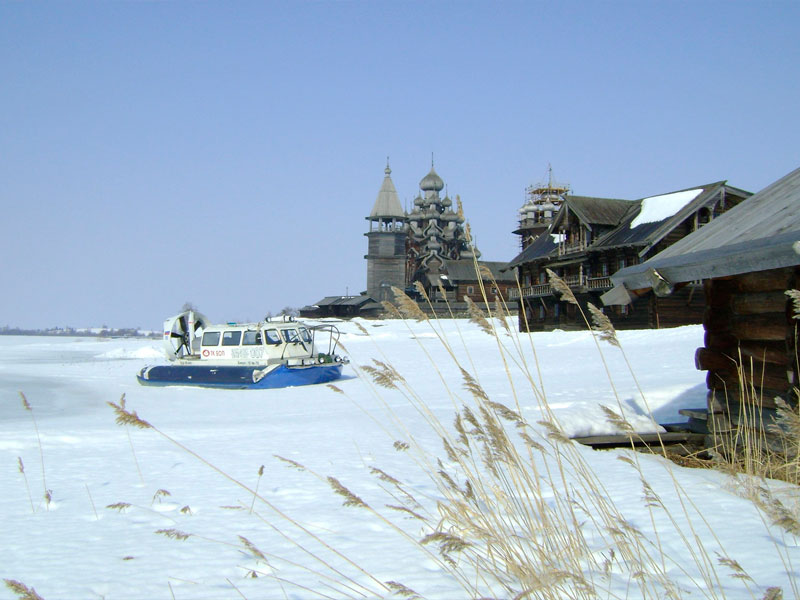 остров Кижи в Карелии фото