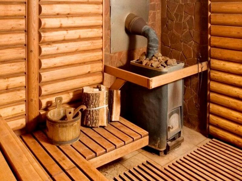 баня в отеле «Времена Года»