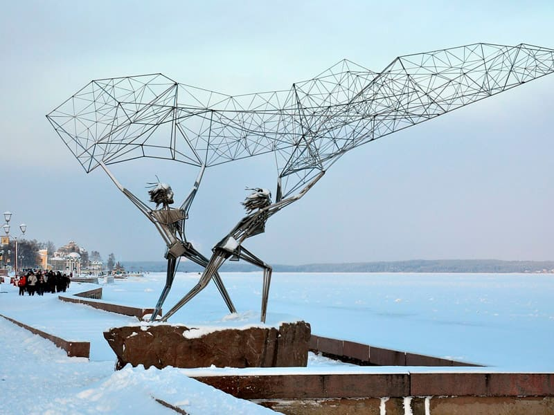 Экскурсия по Петрозаводску зимой