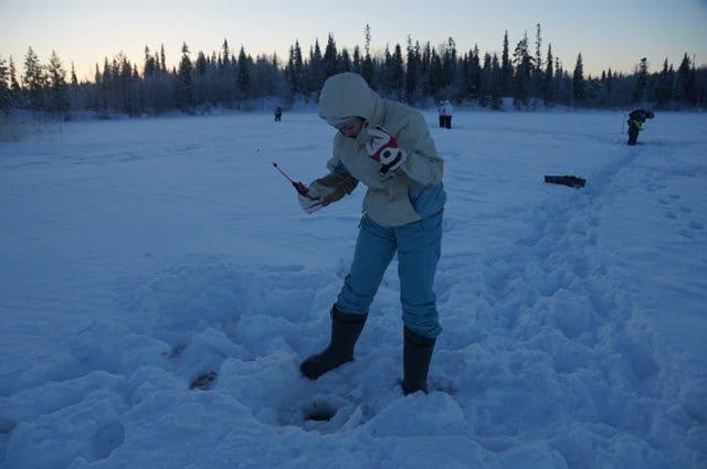 Выезд на зимнюю рыбалку