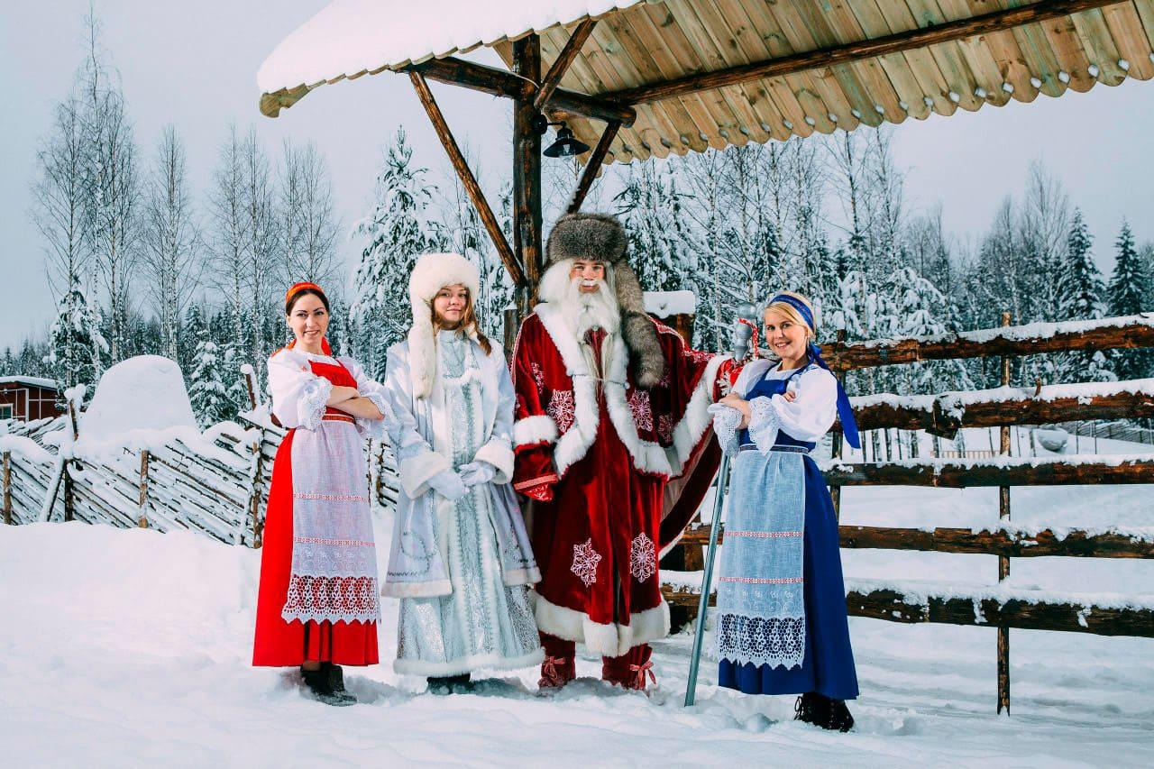 Отправление в вотчину карельского Деда Мороза фото»