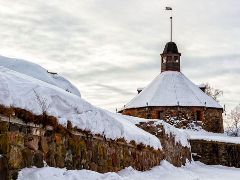 Осмотр Кексгольмской крепости фото