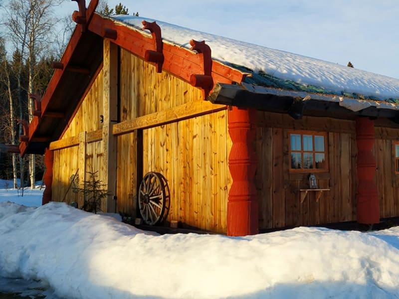 Музей «У Мастера» зимой